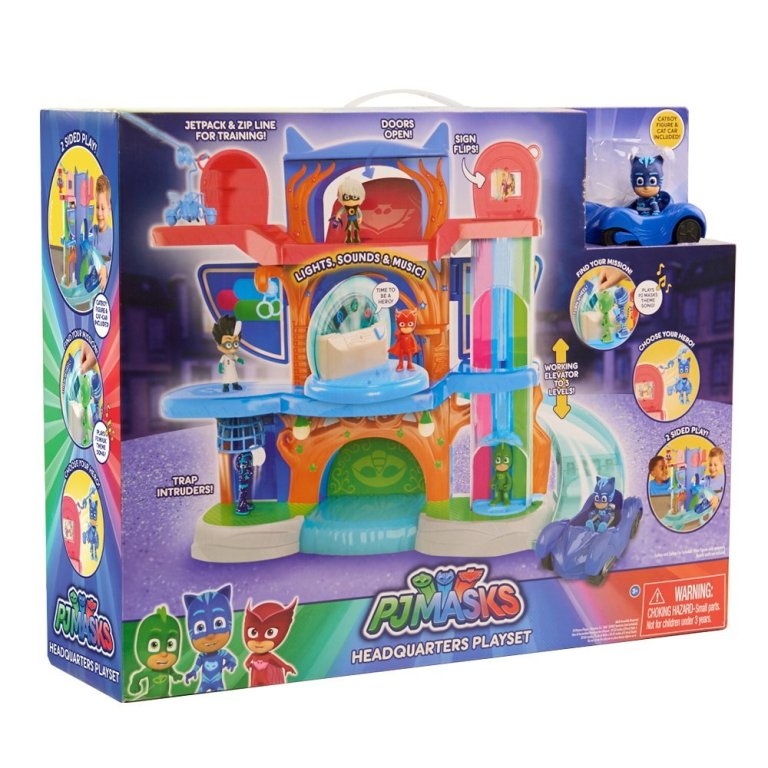 Just-Play-PJ-Masks-Headquarters-Playset 40+ Hottest Christmas Toys Your Kids Really Want in 2021