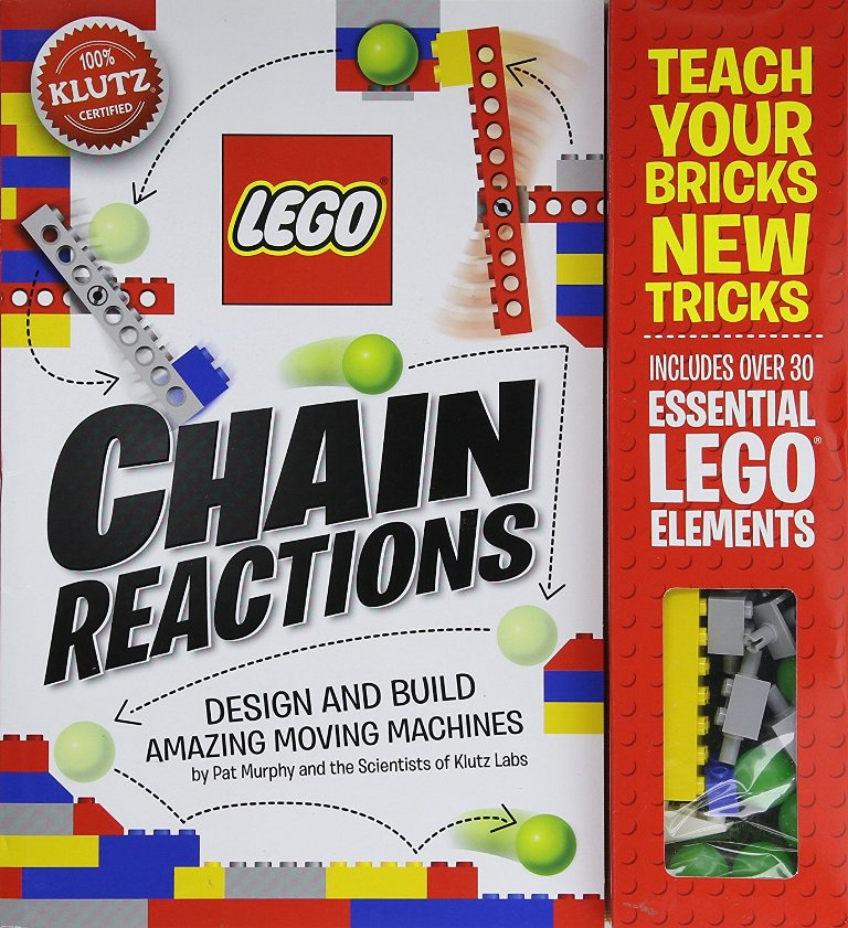 Klutz-LEGO-Chain-Reactions-Craft-Kit 40+ Hottest Christmas Toys Your Kids Really Want in 2018