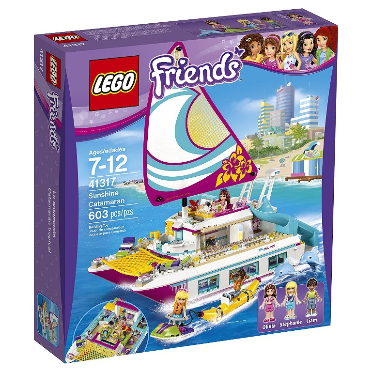 LEGO-Friends-Sunshine-Catamaran 40+ Hottest Christmas Toys Your Kids Really Want in 2018