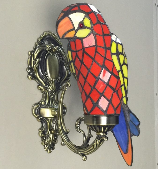 Macaw-Bird-Tiffany-Hanging-Lamp-675x722 Top 10 Unique Lighting Products Trending in 2020