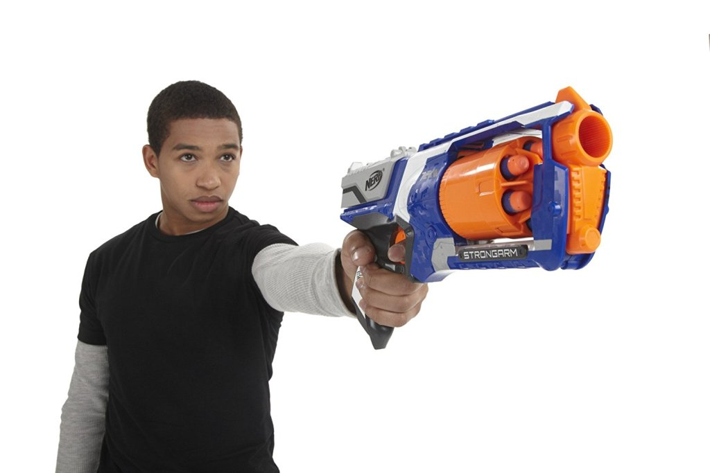 Nerf-N-Strike-Elite-Strongarm-Blaster 40+ Hottest Christmas Toys Your Kids Really Want in 2018