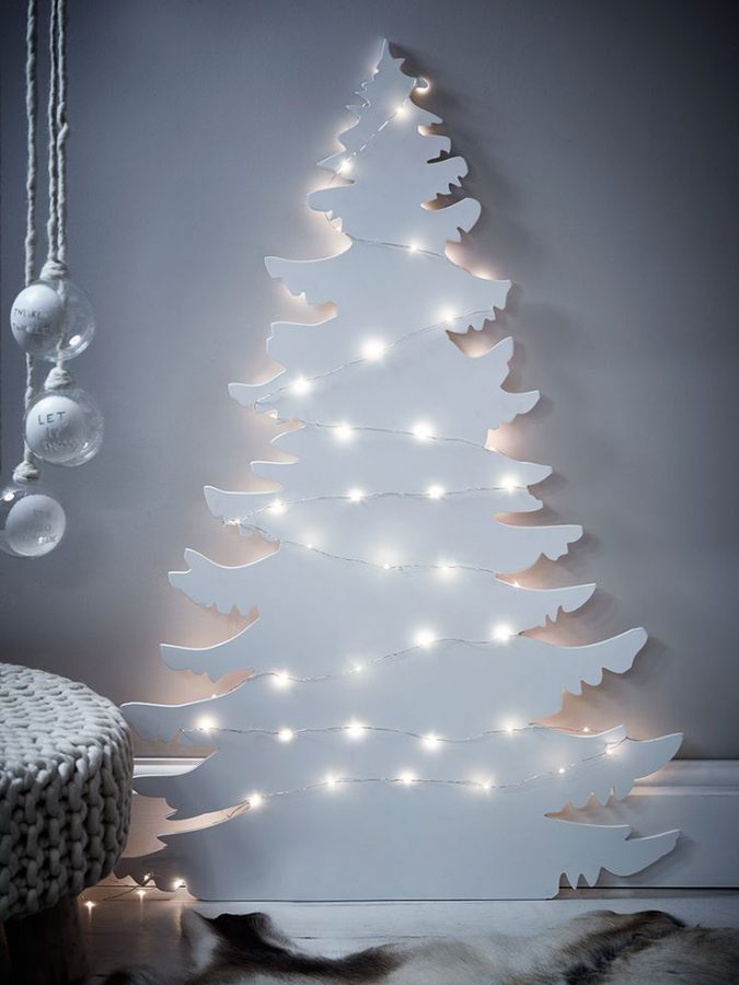 Paper-Christmas-Tree-675x900 7 Top Upcoming Christmas Decoration Ideas 2018