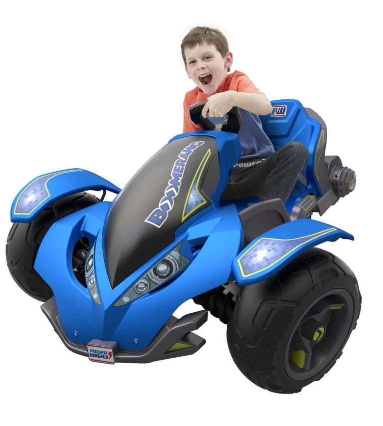 Power-Wheels-Boomerang-12-Volt-Ride-On 40+ Hottest Christmas Toys Your Kids Really Want in 2021