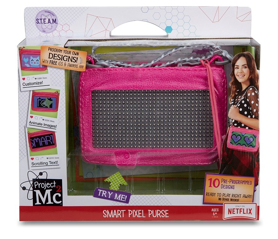 Project-Mc2-Smart-Pixel-Purse 40+ Hottest Christmas Toys Your Kids Really Want in 2021