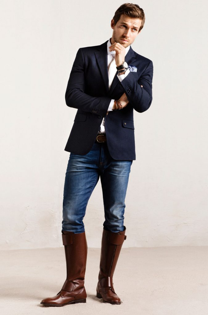 Riding-boots-men-outfit-675x1025 Know What's In and Out in the Fashion World