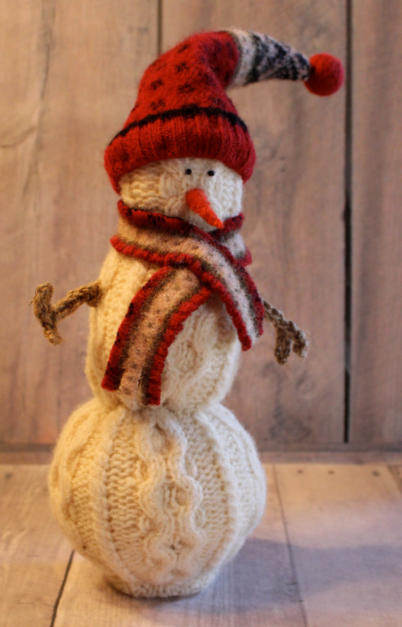 Shrunken-Sweater-Snowmen 7 Top Upcoming Christmas Decoration Ideas 2020