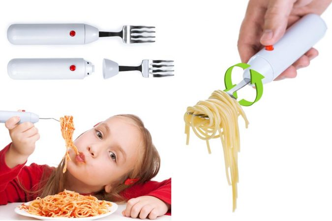 Spaghetti-twirling-Fork-2-675x450 Top 10 Unusual Kitchen Products Coming in 2018