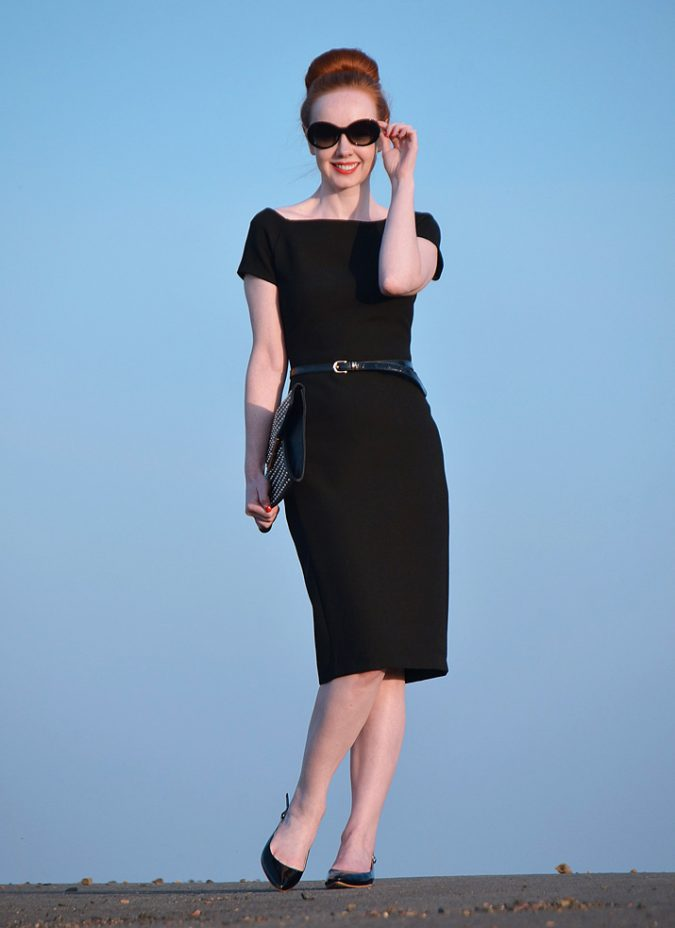 audrey-hepburn-inspired-little-black-dress-2-675x928 Know What's In and Out in the Fashion World