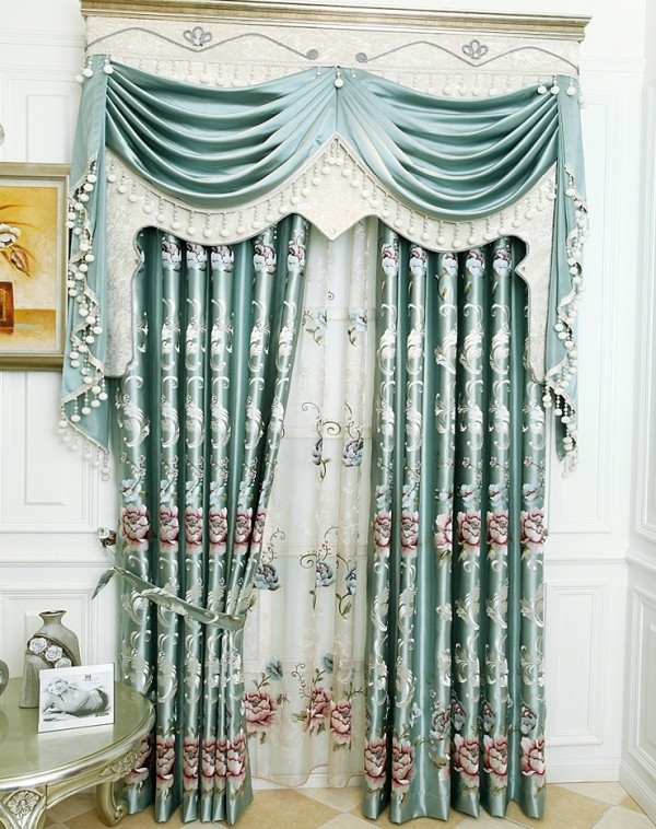 blackout-curtains-with-fur-balls-1 7 Luxurious Blackout Curtain Ideas That Will Turn Your Window into a Piece of Art