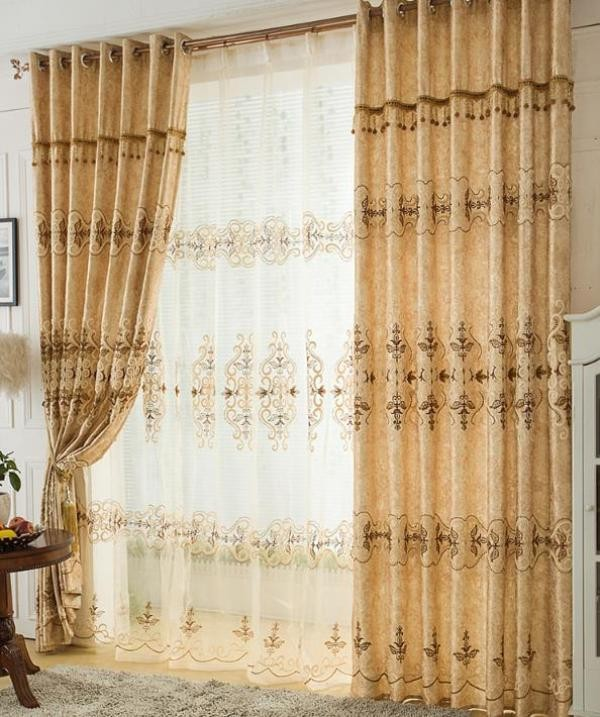 blackout-curtains-with-fur-balls-3 7 Luxurious Blackout Curtain Ideas That Will Turn Your Window into a Piece of Art
