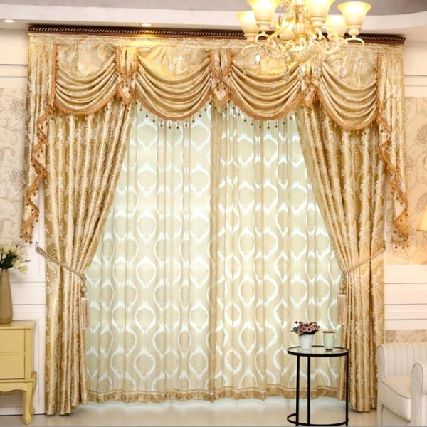 blackout-curtains-with-fur-balls-7 7 Luxurious Blackout Curtain Ideas That Will Turn Your Window into a Piece of Art