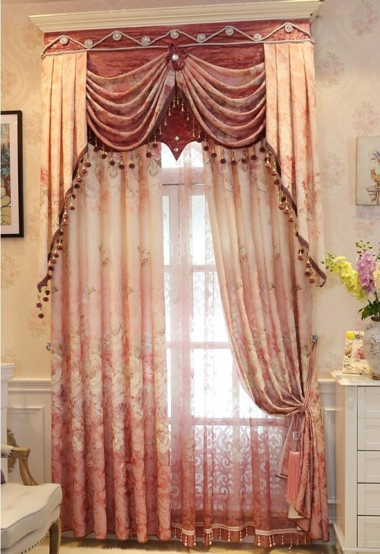 blackout-curtains-with-fur-balls 7 Luxurious Blackout Curtain Ideas That Will Turn Your Window into a Piece of Art