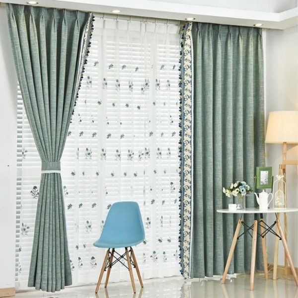 blackout-curtains-with-tassels-11 7 Luxurious Blackout Curtain Ideas That Will Turn Your Window into a Piece of Art