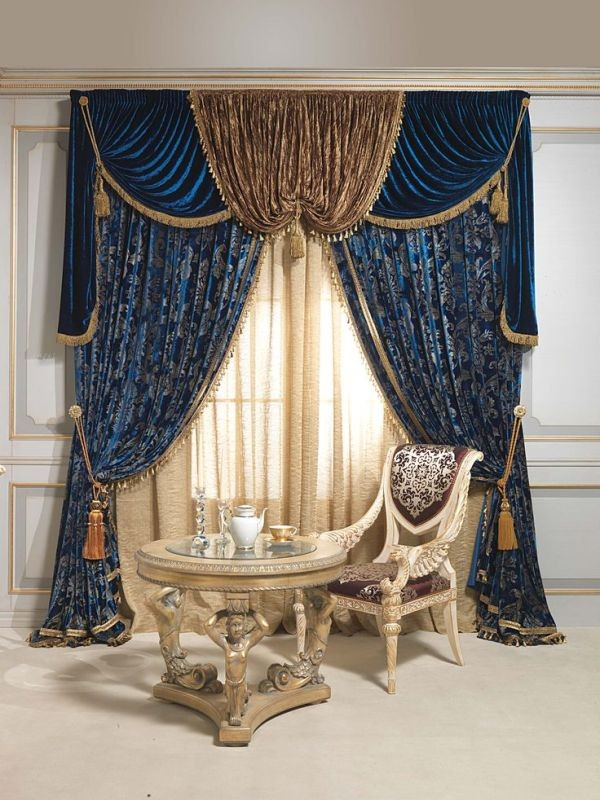 blackout-curtains-with-tassels-3 7 Luxurious Blackout Curtain Ideas That Will Turn Your Window into a Piece of Art