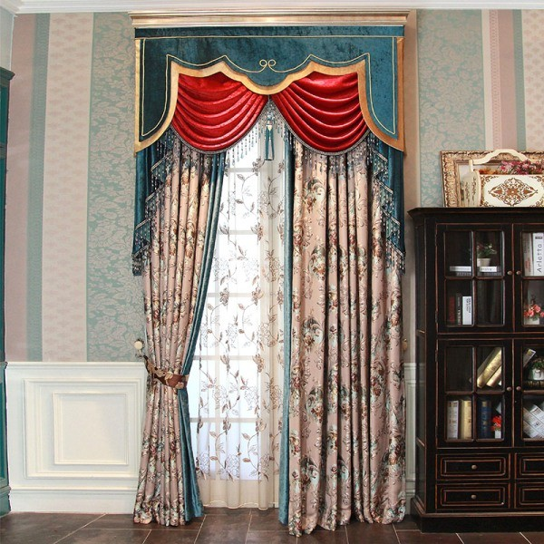 blackout-curtains-with-tassels-6 7 Luxurious Blackout Curtain Ideas That Will Turn Your Window into a Piece of Art