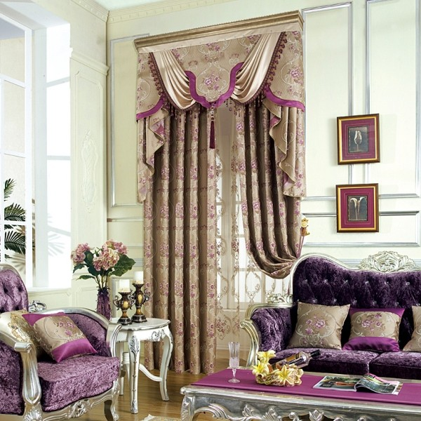 blackout-curtains-with-tassels-7 7 Luxurious Blackout Curtain Ideas That Will Turn Your Window into a Piece of Art
