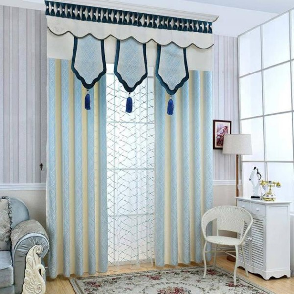 blackout-curtains-with-tassels-8 7 Luxurious Blackout Curtain Ideas That Will Turn Your Window into a Piece of Art
