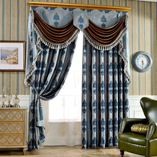 blackout-curtains-with-tassels-9 7 Luxurious Blackout Curtain Ideas That Will Turn Your Window into a Piece of Art
