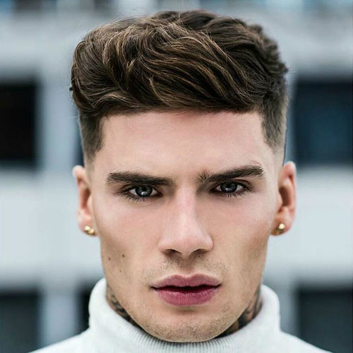 buu 10 Hairstyles Will Suit Men with Oval Faces