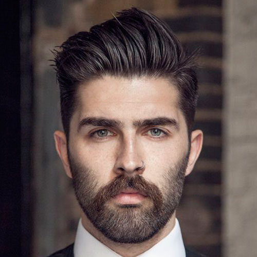 buuu 10 Hairstyles Will Suit Men with Oval Faces