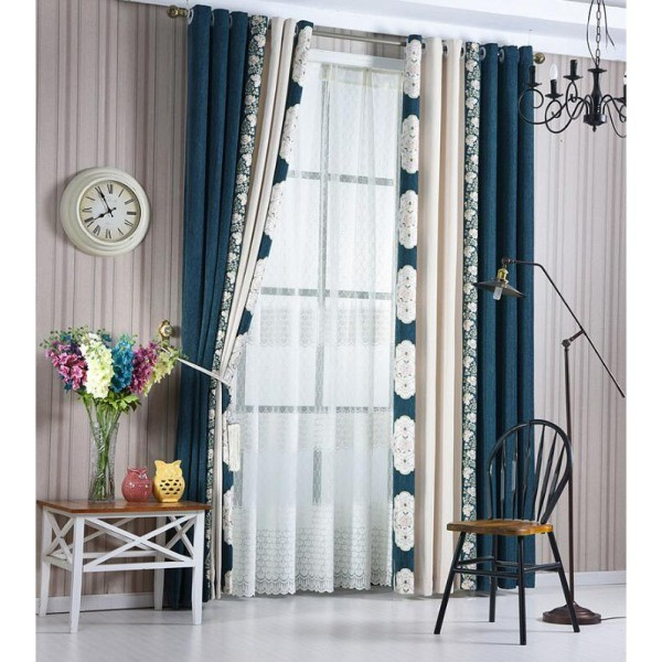 catchy-prints-and-patterns-1 7 Luxurious Blackout Curtain Ideas That Will Turn Your Window into a Piece of Art