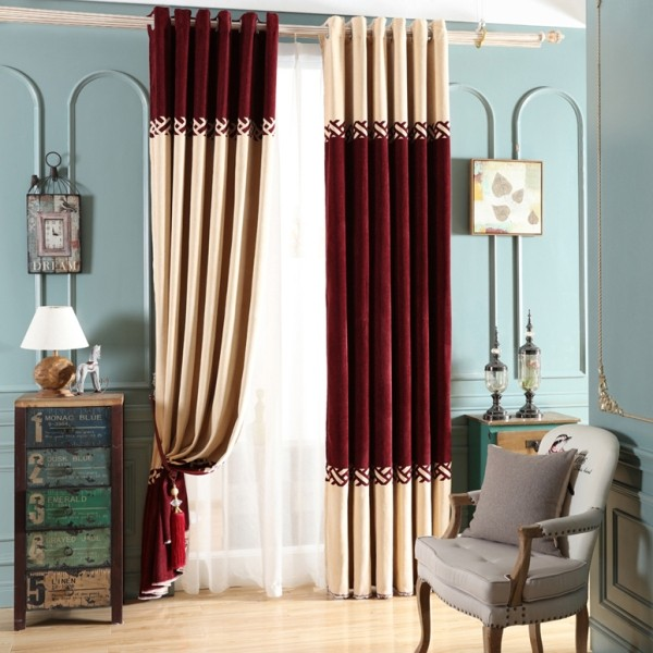 catchy-prints-and-patterns-10 7 Luxurious Blackout Curtain Ideas That Will Turn Your Window into a Piece of Art