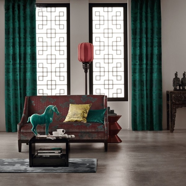 catchy-prints-and-patterns-12 7 Luxurious Blackout Curtain Ideas That Will Turn Your Window into a Piece of Art