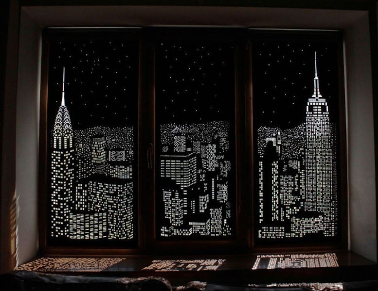 catchy-prints-and-patterns-13 7 Luxurious Blackout Curtain Ideas That Will Turn Your Window into a Piece of Art