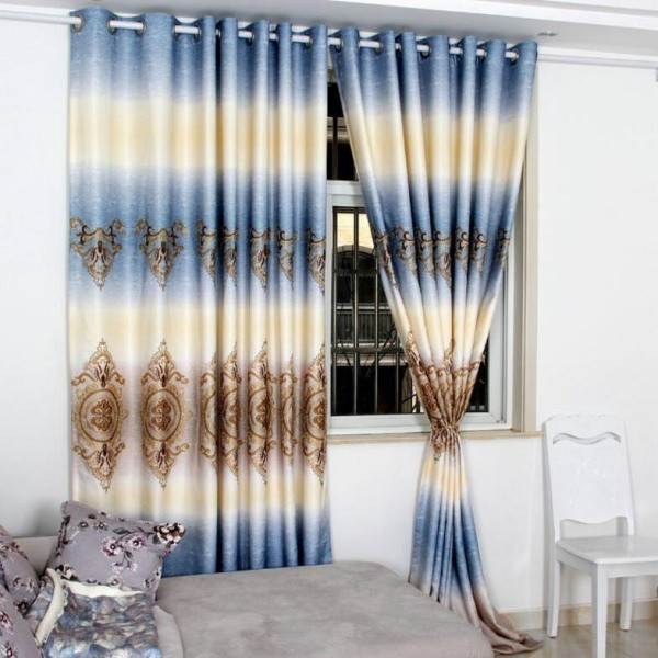 catchy-prints-and-patterns-2 7 Luxurious Blackout Curtain Ideas That Will Turn Your Window into a Piece of Art