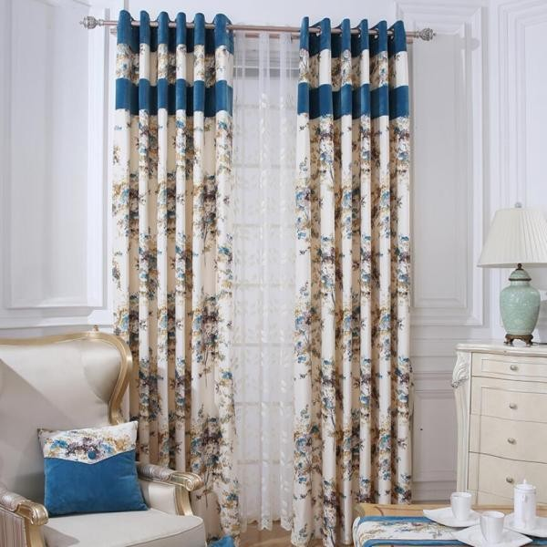 catchy-prints-and-patterns-3 7 Luxurious Blackout Curtain Ideas That Will Turn Your Window into a Piece of Art
