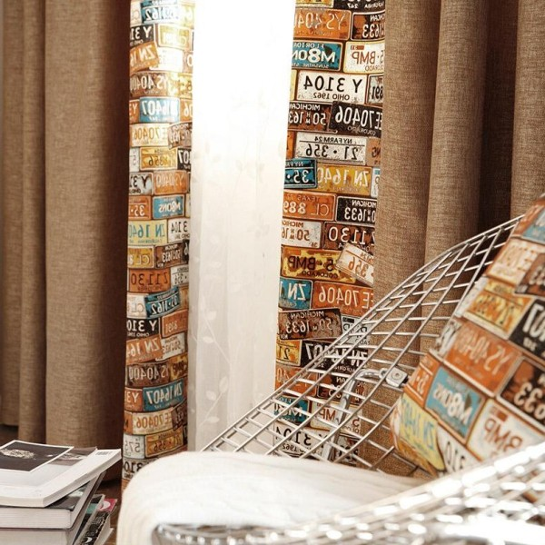 catchy-prints-and-patterns-6 7 Luxurious Blackout Curtain Ideas That Will Turn Your Window into a Piece of Art