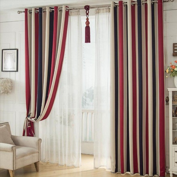 catchy-prints-and-patterns-7 7 Luxurious Blackout Curtain Ideas That Will Turn Your Window into a Piece of Art