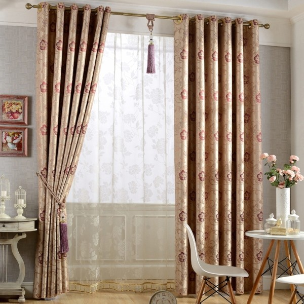 catchy-prints-and-patterns-8 7 Luxurious Blackout Curtain Ideas That Will Turn Your Window into a Piece of Art