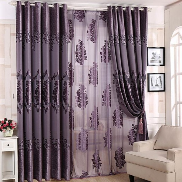 catchy-prints-and-patterns-9 7 Luxurious Blackout Curtain Ideas That Will Turn Your Window into a Piece of Art