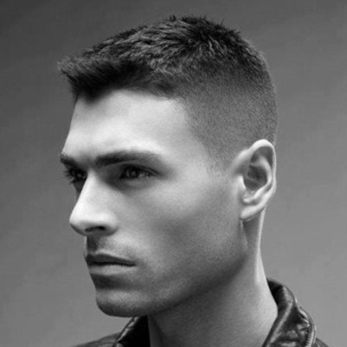 cc 10 Hairstyles Will Suit Men with Oval Faces