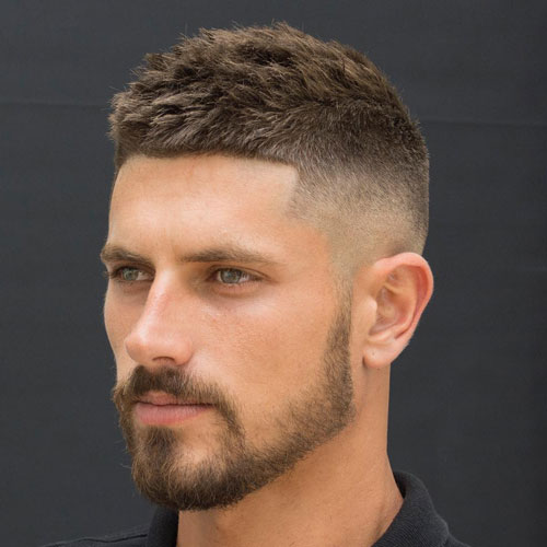 ccc 10 Hairstyles Will Suit Men with Oval Faces