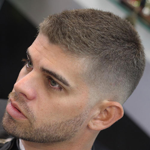 cccc 10 Hairstyles Will Suit Men with Oval Faces