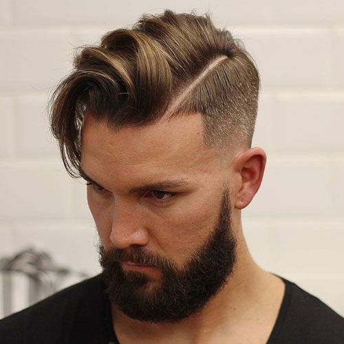 co 10 Hairstyles Will Suit Men with Oval Faces