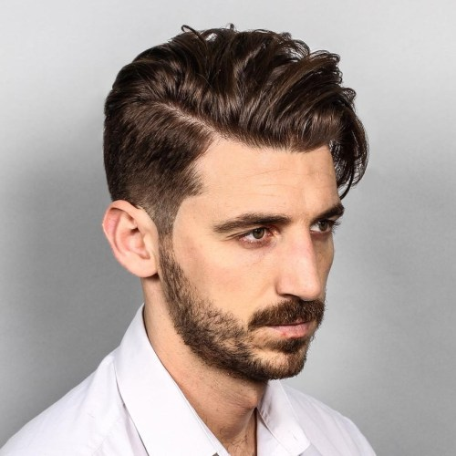 cooo 10 Hairstyles Will Suit Men with Oval Faces