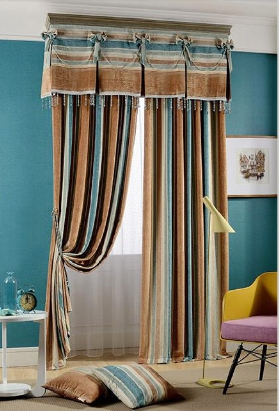 crystals-and-beads-1 7 Luxurious Blackout Curtain Ideas That Will Turn Your Window into a Piece of Art