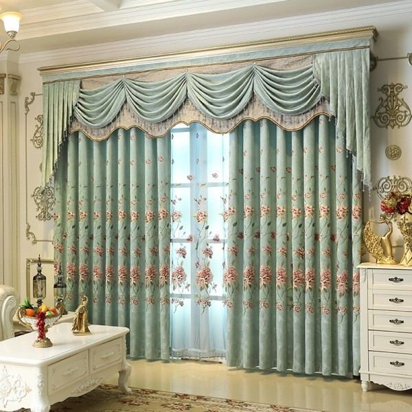 crystals-and-beads-10 7 Luxurious Blackout Curtain Ideas That Will Turn Your Window into a Piece of Art