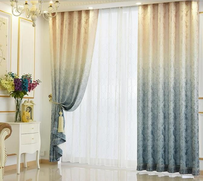 crystals-and-beads-11 7 Luxurious Blackout Curtain Ideas That Will Turn Your Window into a Piece of Art