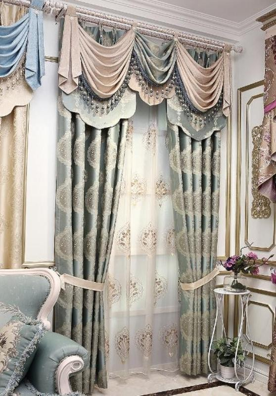 crystals-and-beads-2 7 Luxurious Blackout Curtain Ideas That Will Turn Your Window into a Piece of Art