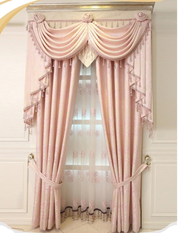 crystals-and-beads-3 7 Luxurious Blackout Curtain Ideas That Will Turn Your Window into a Piece of Art