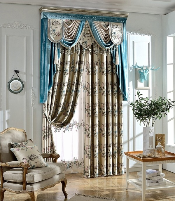 crystals-and-beads-5 7 Luxurious Blackout Curtain Ideas That Will Turn Your Window into a Piece of Art