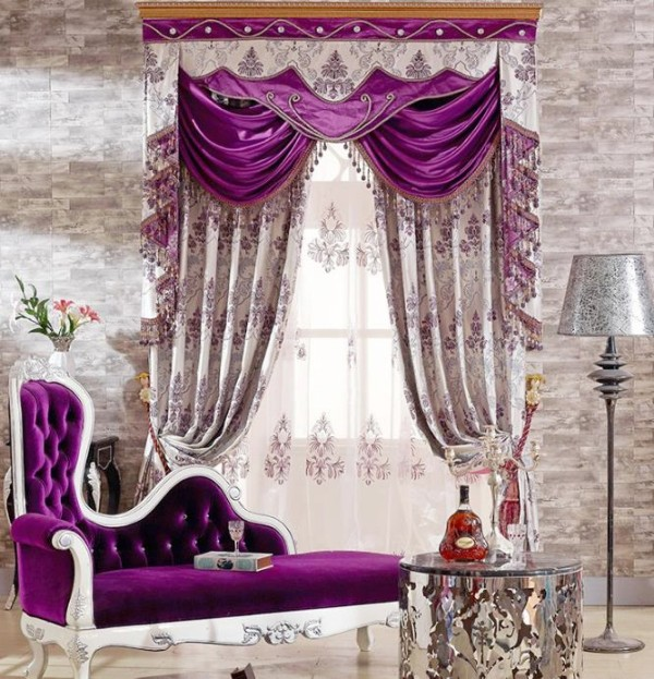 embroidered-blackout-curtains-7 7 Luxurious Blackout Curtain Ideas That Will Turn Your Window into a Piece of Art