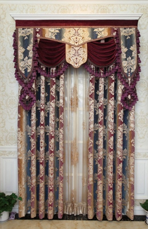 embroidered-blackout-curtains 7 Luxurious Blackout Curtain Ideas That Will Turn Your Window into a Piece of Art