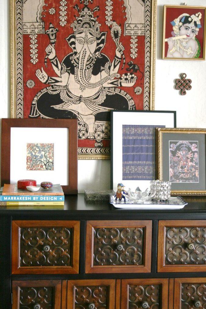 indian-interior-design-indian-paintings-675x1013 Top 5 Indian Interior Design Trends for 2020