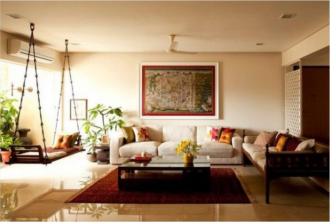 indian-interior-design-living-room-2-1-675x453 Top 5 Indian Interior Design Trends for 2020