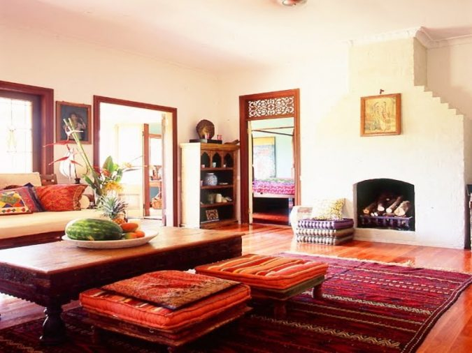living-room-Indian-colors-Indian-interior-design-675x506 Top 5 Indian Interior Design Trends for 2020